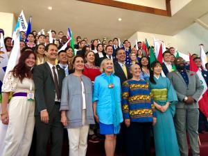 Forty-two delegates from different states of Mexico, different countries of Latin America, the United States and the world gathered together to celebrate the progress made in protecting human rights for Latin America.