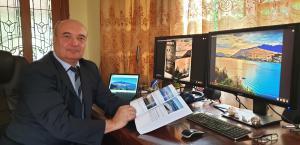 Professor Sergei Eremenko and Soliton Nature book