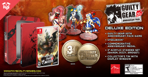 Guilty Gear 20th Anniversary Pack Deluxe Edition for Nintendo Switch