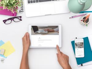 CoreAxis work from home course-mobile learning and elearning image