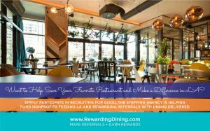 Share With Family and Friends in LA www.RewardingDining.com