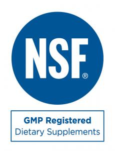 Here is a logo of NSF, for the GMP registered Dietary Supplyments