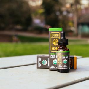 USDA certified organic CBD oils from Cornbread Hemp