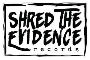 Shred the Evidence Records Logo