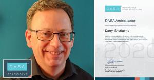 DASA ambassadors Darryl Sherborne