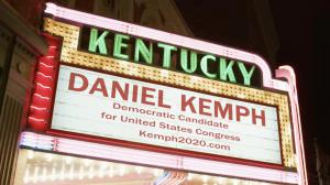 Daniel Kemph for Congress Marquee