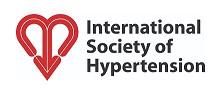 The logo of the International Society of Hypertension