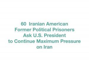 60 Iranian American Political Prisoners