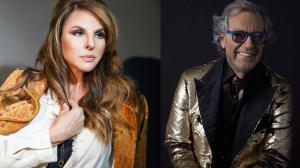 Italian Celebrity Designer Angelo Galasso and Fashion Model and Musician Raquel Aurilia support April 30 Bervann Foundation and Corona Opportunity Fund COVID-19 Online Charity Gala to fight Coronavirus pandemic (COVID-19)