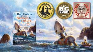 The Benjamin Franklin Gold Award is the third award won by Writers of the Future 35