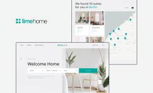 Website Design for Lime Home