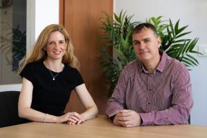 Moran Price (CEO) and Paul Price (CTO)