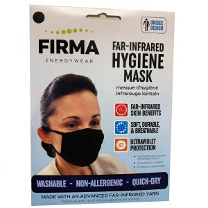 This is a photo of the package used in the retail chain for Firma Face Masks.