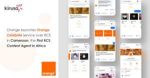 Orange Célébrité service over RCS
