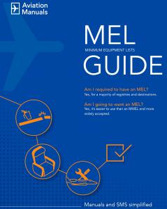 Complimentary MEL Guide Available