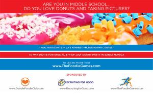 Kids Participate in Fun Photography Competition to Earn Invites for Special 4th of July Donut Party for Good