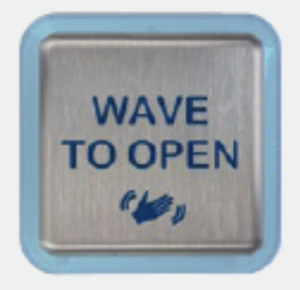 It's easy to open well-trafficked doors with the wave of a hand.