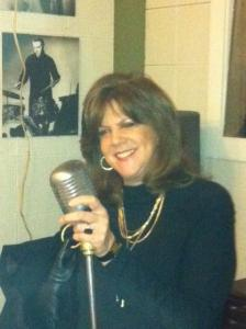 Benefield pictured in the recording studio