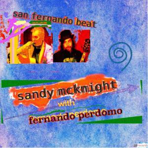 Sandy McKnight with Fernando Perdomo - San Fernando Beat Cover