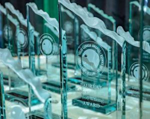 Taste Canada Award Trophy