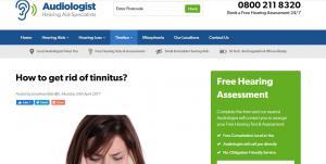UK Audiology: Hearing tests