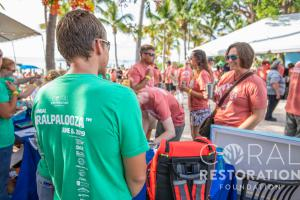 Coralpalooza™ 2019 participants celebrate a day of actively restoring reefs in the Florida Keys