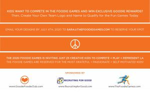 The Foodie Games create meaningful experiences that prepare kids for a fun fulfilling life.