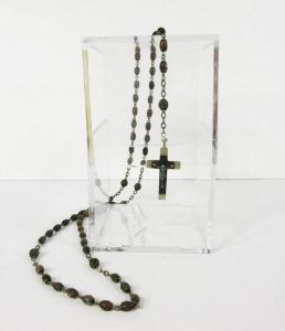 JFK's personally owned rosary beads, gifted via donation by Rose Fitzgerald Kennedy, to Sister Fabiola Parent of the Sinsinawa Sisterhood in Wisconsin in 1974 (est. $15,000-$17,000).
