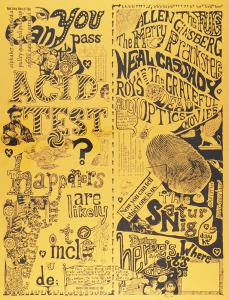 A $10,000 reward has been offered for this Can You Pass The Acid Test poster
