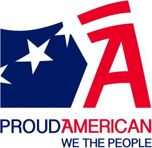 Proud American Party logo — www.proudamerican.net