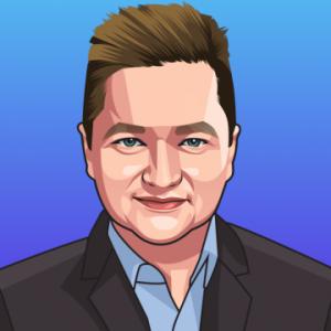 Sergiu Draganus - Event Host @ Virtual Blockchain Summit - Logo - The World's first Tokenized Event
