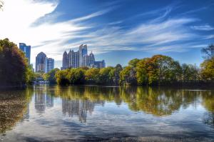Skyline of Atlanta GA