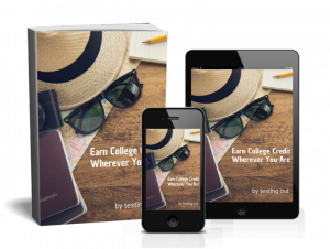 """Learn More Download the FREE eBook """" Earn College Credit Wherever You Are"""""""