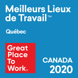 Great Place to Work Quebec 2020
