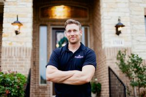 Professional Headshot of Celebrity Project Manager Tim Parrish of McAllen Valley Roofing Co. in San Antonio, TX