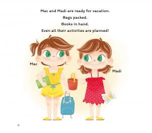 Inside look of Mac & Madi's Vacation: About Identical Twins Exciting Trip to the Shore!