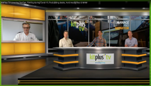 axle ai's Neil Blake on KitPlus TV with presenters