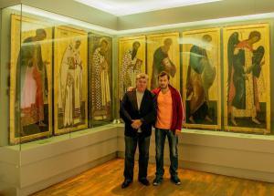 Oleg Kushnirskiy and Sergey Khodorkovskiy