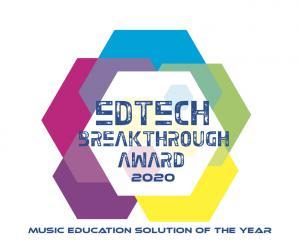 EdTech Breakthrough Award seal