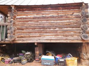 Storage Building Rented For Short Term Stay Held up by Jack