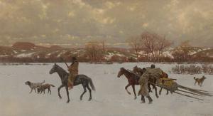Henry Farny, Nomads, 1902; Estimate $1,500,000-2,500,000