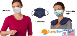 Sunny Bay face masks, N95, disposable, and cloth face mask