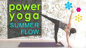 Power yoga for Summer / Summer Yoga Workout 2020