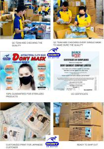 Dony Mask - Reliable wholesale face mask supplier exporter from Vietnam to USA, UK