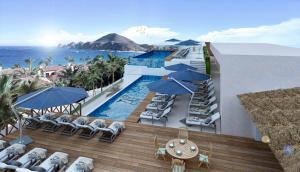 Rooftop Pool of Autentico Vertical in Los Cabos, Mexico