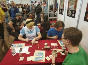 Photos from our exhibit at Spiel 2019