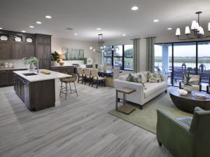 Sky Cove floor plans - Sand Dollar 4 Interior
