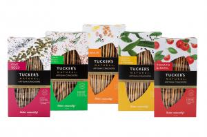 Tucker's Natural have launched a new Artisan Cracker range which is non-GMO, source of fibre, yeast free and is vegetarian. It comes in 5 flavours.