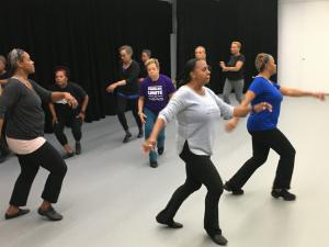"The weekly ""me time"" for Mo Jazz Dance Company members was rehearsal, and a chance to dance."