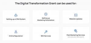 The Digital Transformation Grant